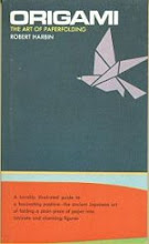 """Photo: US version of Origami: The Art of Paperfolding, Funk & Wagnalls, 1969, 4"""" x 7"""" paperback, 186 pages. ISBN 0308900995 Author Ned Williams (= Harbin's real name)"""