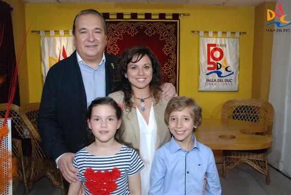 María, Mª José, Luis y Marcos máximos representantes 2017