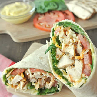 How To Roll A Picture Perfect Grilled Chicken Wrap.