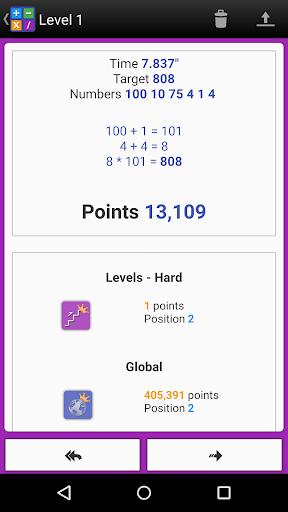 Numbers Game! 6 Countdown Math apktram screenshots 7