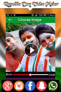 Republic Day Video Maker - Slideshow Maker 2018 - náhled