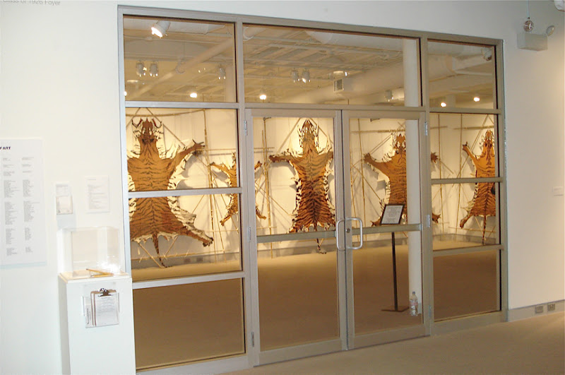 Photo: Entrance of the gallery exhibiting my 14 artworks.  (C) Ruth Marshall, 2012.