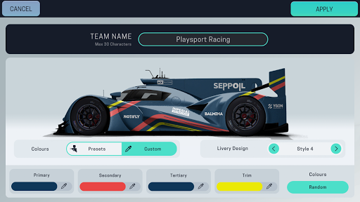Screenshot for Motorsport Manager Mobile 3 in Hong Kong Play Store