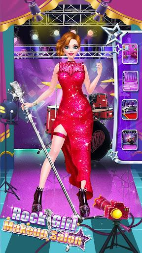 ud83cudf99ufe0fud83dudc67Music Girl Makeup Salon - Rock Star Dress Up screenshots 15