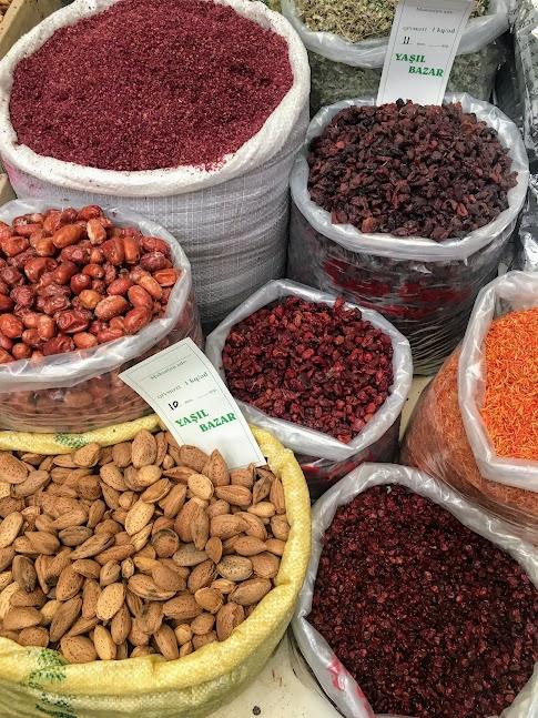Azerbejdżan, kuchnia, przyprawy