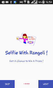 Download selfie with rangoli Free