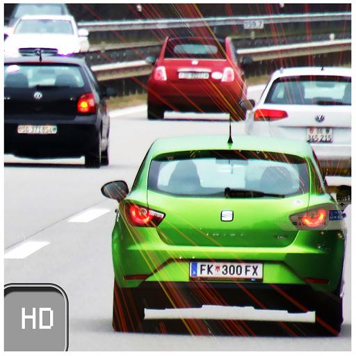 3D Highway Traffic Racer