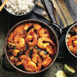 Shrimp And Squash Curry