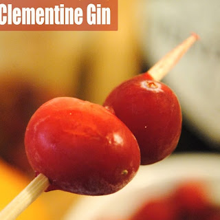 Cranberry Clementine Gin.