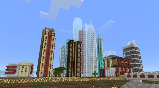 Скачать игру Майнкрафт Сити