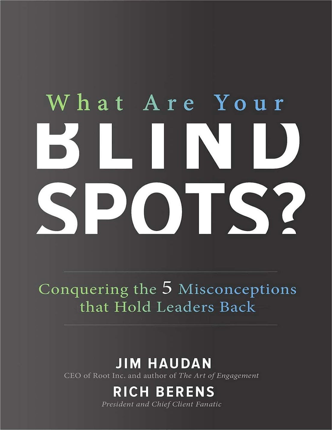 """Summary of """"What Are Your Blind Spots? - Conquering the 5 Misconceptions that Hold Leaders Back"""" by Jim Haudan and Rich Berens"""