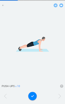 Home Workout - No Equipment APK screenshot thumbnail 10
