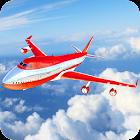 Flugzeugflugpilot Simulator 2018 icon