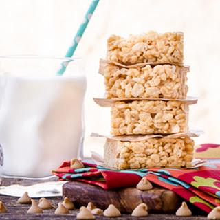 Double Peanut Butter Rice Krispie Treats