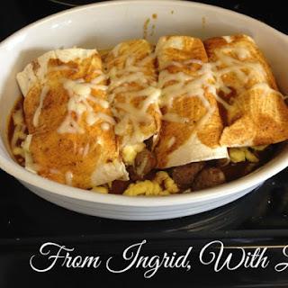 Breakfast Enchiladas.