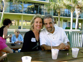 Photo: Carlos and Patricia Santana at the 35th reunion Sirata Beach Resort, St. Pete Bch.  2002