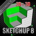 Learn Sketchup 8 for beginner icon