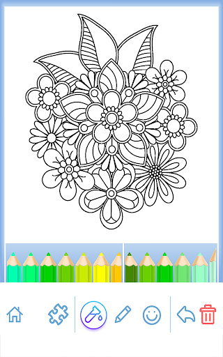 Coloring Book for Adults 6.0.4 screenshots 1