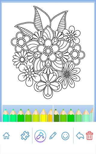 Livre colorier pour adultes  captures d'écran 2