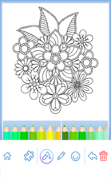 Coloring Book For Adults APK Screenshot Thumbnail 2