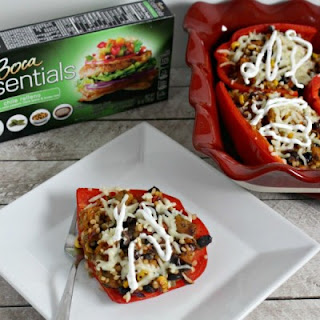 Veggie Southwestern Stuffed Peppers