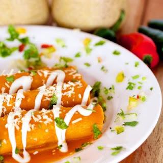 30-Minute Chicken Enchiladas.