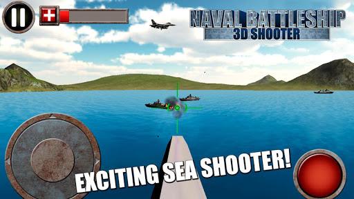 Naval Battleship: 3D Shooter