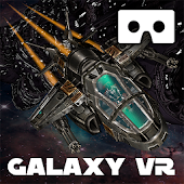 Galaxy VR Cardboard Space FPS