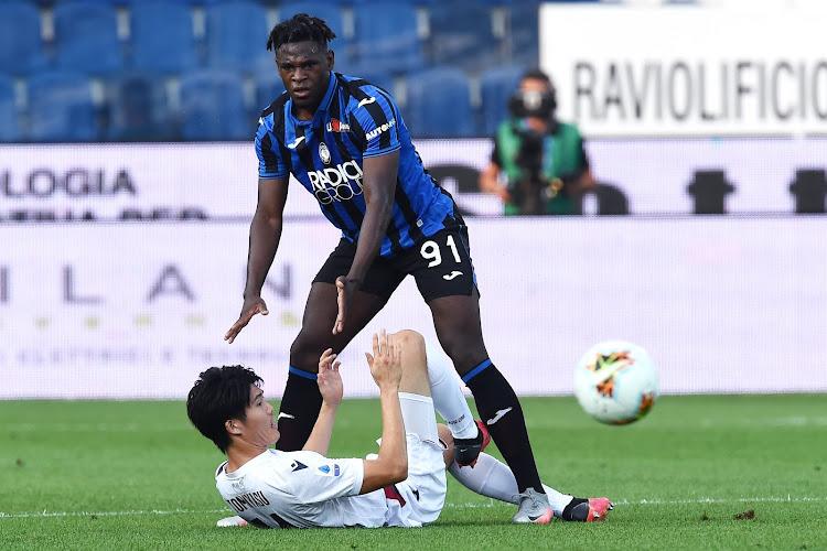 Serie A : l'Atalanta assure l'essentiel à Salernitana