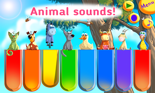 Baby Zoo Piano with Music for Toddlers and Kids- screenshot thumbnail