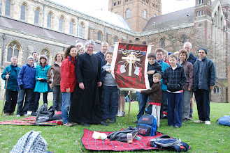 Photo: All Saints Clifton with the Archdeacon of Bedford