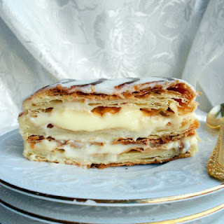Classic French Napoleon (Mille-Feuille).