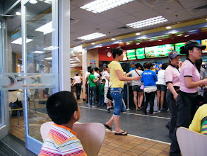 Photo: in KFC near Fu-Mart in night.