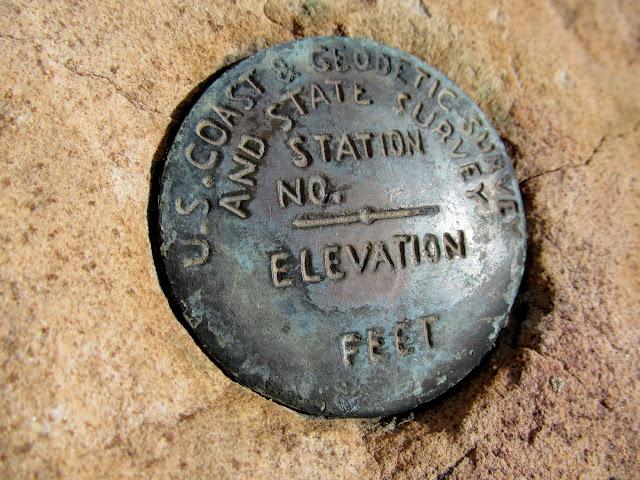 Unstamped U.S. C.G.S marker