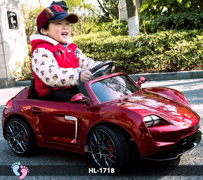 Xe hơi điện cho bé Porsche HL-1718 2