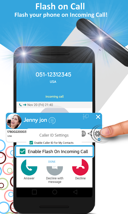 Me: Caller ID & Spam Protection, Restore contacts- screenshot