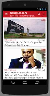 Gabon : Actu Gabon - náhled