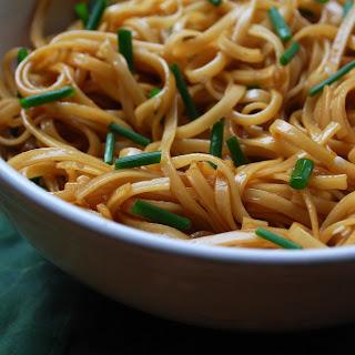 Simple Sesame Noodles.