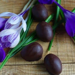 Chocolate Coconut Easter Eggs Recipes.