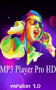 MP3 Player PRO HD - náhled