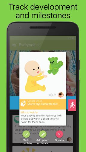 Ovia Parenting: Baby Tracker & Development Log 1.2.5 screenshots 2