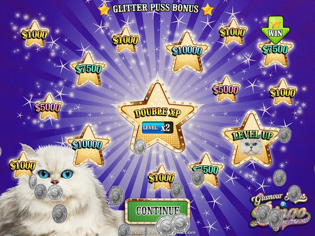 Glamour Puss Bingo Cats FREE- screenshot