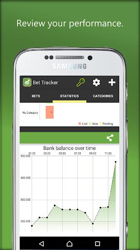 Bet Tracker  screenshots 2
