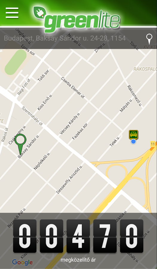 GreenLite Taxi- screenshot