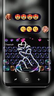 Láska vás neonová klávesnice - náhled