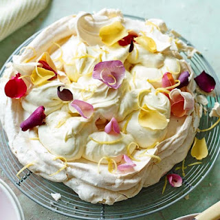 Lemon Chiffon Pavlova Recipe
