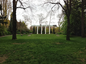 Photo: Columns and Sylvan Theater