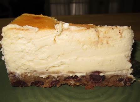 Cheesecake With Chocolate Chip Cookie Dough Crust Recipe