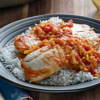 Tilapia with Fennel and Tomato