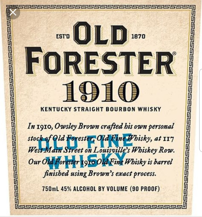 Logo for Old Forester 1910